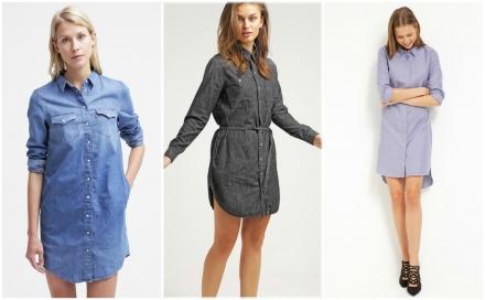 Skjortekjoler til kvinder 2016